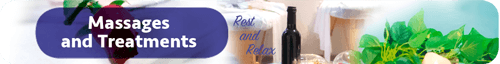 Massages and Treatments at spa barak